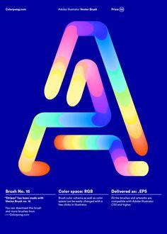 Colorpong.com - Vector brushes - Karol Gadzala – Graphic design & Art direction