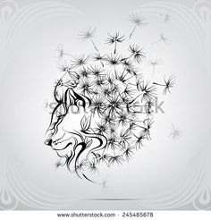 Find Lion Mane Dandelion stock images in HD and millions of other royalty-free stock photos, illustrations and vectors in the Shutterstock collection. Thousands of new, high-quality pictures added every day. 1 Tattoo, Lion Tattoo, Body Art Tattoos, Tatoos, Leon Logo, Dandelion Nursery, Dandelion Art, Dog Lion Mane, Animal Heads