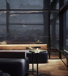 Summit Bar At Radisson Blu Oslo Showcases Snøhetta& Design Masterpiece Bar Interior Design, Commercial Interior Design, Commercial Interiors, Interior Design Inspiration, Hotel Lounge, Bar Lounge, Lounge Design, Interior Architecture, Interior And Exterior