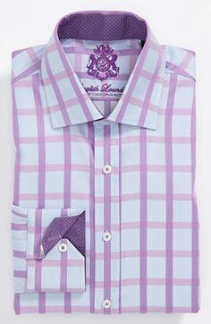 English Laundry Trim Fit Dress Shirt | Nordstrom