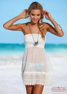 Vestidos Blancos para Playa Coleccin 2018 Vestidos Moda 2018