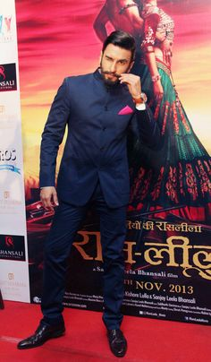 Ranveer Singh promotes Ram-Leela in Delhi. #Bollywood #Fashion #Style #Beauty