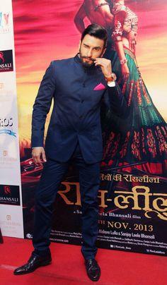 Ranveer Singh promotes Ram-Leela in Delhi. #Bollywood #Fashion #Style #Beauty