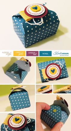Cute box, Envelope Punch Board,