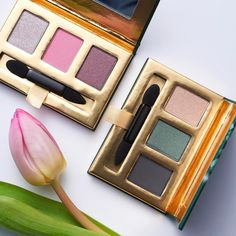 Which colours to you prefer? Comment 1 for Radiant Peony and 2 for Dramatic Tourmaline!#Oriflame #Makeup #TheONE