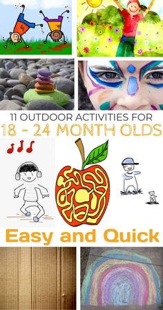 19 Trendy diy outdoor games for toddlers learning Outdoor Activities For Toddlers, Outdoor Baby, Outdoor Activities For Kids, Infant Activities, Sensory Activities, 18 Month Old Activities, Summer Activities, Toddler Learning, Baby Month By Month