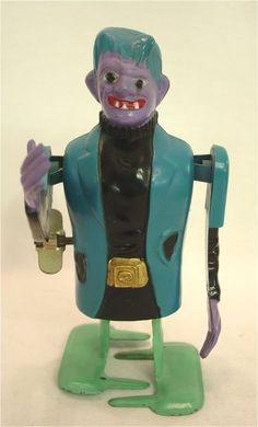 Frankenstein wind-up toy by MARX