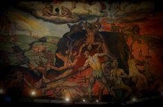 Basilica Santa Maria del Fiore, Firenze, Italy 피렌체 산타마리아 델 피오레 성당의 천장화