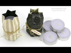 Teeny Tiny Wishes, Going Places DSP Stack, Word Window punch, ?Linen Thread - Way Back Wednesday Hexagon Tealight Box Tutorial