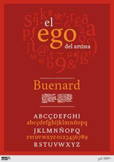Buenard Regular / Gustavo Ibarra / AR / 2012
