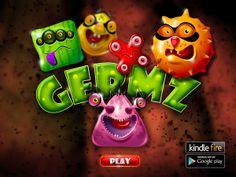 Germz Game concept by Maxim Liviu, via Behance