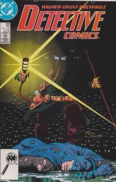 Detective Comics #586 Ratcatcher Pt.2. Norm Breyfogle Cover Art.