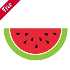 Free Watermelon  Zip Folder Contains:    1 SVG Cut File.  1 DXF Cut File.  1 GSD Cut File.  1 MTC Cut File.  1 .studio Silhouette Cut File.  Great for book and photo album covers, gift wraps, bookmarks, scrapbooking, invitations and making cards, stationary, labels and tags, collages, stickers.