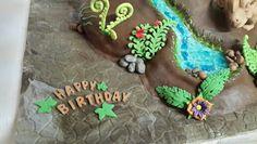 Walking with dinosaurs cake