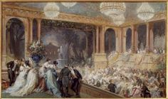 Napoleon iii, Imperial soirée at the Tuileries