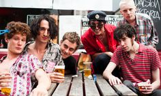 The Fat White Family perform I Am Mark E Smith and Wild American Prairie