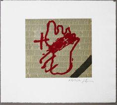 Artist: Antoni Tàpies, title: Antoni Tàpies, technology: Etching, aquatint, carborundum