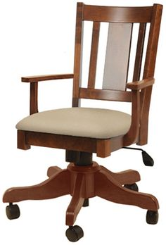 You'll save on every piece of furniture at Amish Outlet Store! Each piece is custom made by highly-skilled Amish crafters who use quality solid wood and materials. Save up to off retail on the Benito Desk Chair in any wood and stain of your choosing! Masculine Office Decor, Traditional Office Chairs, Basement Movie Room, Media Room Design, Best Office Chair, Amish Furniture, Small Rooms, Movie Rooms, Tv Rooms