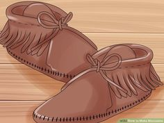 4 Ways to Make Moccasins - wikiHow
