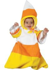 Baby Candy Corn Costume Bunting - Party City