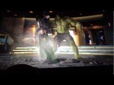 ~ Hulk smashes Loki Funny Fight - The Avengers .. .. .. !!