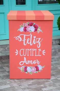 Happy Birthday Wishes, Birthday Gifts, New Project Ideas, Baby Shower Purple, Mendoza, Birthday Decorations, Diy And Crafts, Birthdays, Presents