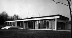 West Common Way House (1962) by Jørn Utzon