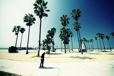 Skate on Venice beach