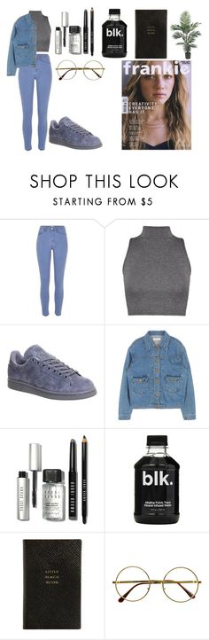 """Untitled #171"" by dreamer3108 on Polyvore featuring River Island, adidas, Bobbi Brown Cosmetics, Smythson, Retrò, women's clothing, women, female, woman and misses"