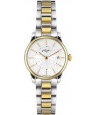 Ladies Rotary Ladies Timepieces Locarno Two Tone Steel Watch 163.52 Watches2U