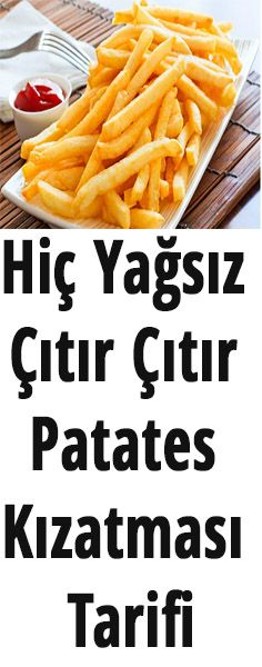 Hiç yağsız patates kızartması tarifi Crispy French Fries with Zero Fat Recipe Medium Medium Potatoes 2 Egg White Salt, Pepper Making Beat the egg whites until they become foam with a pinch of salt Crispy French Fries, French Fries Recipe, French Recipes, Snack Recipes, Cooking Recipes, Healthy Recipes, Key Lime Pie Rezept, Good Food, Yummy Food