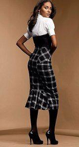 falda ejecutiva