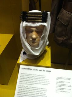 This agai was used by Lawrence to secure the shemagh of one of his Arab costumes. photographed this at the Australian War Memorial. Ww1 Soldiers, Lawrence Of Arabia, Film Movie, Camel, Original Artwork, Gems, War, Memories, Costumes