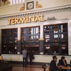 The Terminal Bar Union Station Denver, Colorado Travel