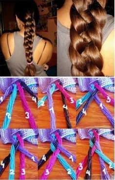DIY Gorgeous Braid Hairstyle DIY Gorgeous Braid Hairstyle