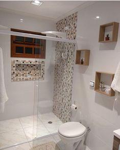 Trendy Home Plans Simple Bathroom Ideas Bathroom Design Small, Simple Bathroom, Bathroom Interior Design, Modern Bathroom, Shower Bathroom, Bathroom Ideas, Master Bathroom, Vanity Bathroom, Bathroom Toilets