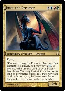 Competitive commander mtg intet co op deck dreamer magic mtg dragons