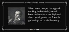 history of auguste escoffier and marie careme essay Modern brigade system vs classical  georges-auguste escoffier's two main contributions were the  just send your request for getting no plagiarism essay.