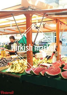 Turkish Market - Food in Berlin - blondemoments Neukölln - Kreuzberg - Maybachufer - Fresh Food - Budgettravel