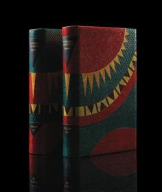 """A two-volume 1830 edition of William Ellis's <em>Polynesian Researches,</em> bound by Louise Mauger. <em>Polynesian Researches, by Willian Ellis, two volumes, bound by Louise Mauger, $5,000, <a href=""""mailto:louise.mauger.reliure@gmail.com"""" target=""""_blank"""" class=""""icon none"""" >louise.mauger.reliure@gmail.com</a> </em>"""
