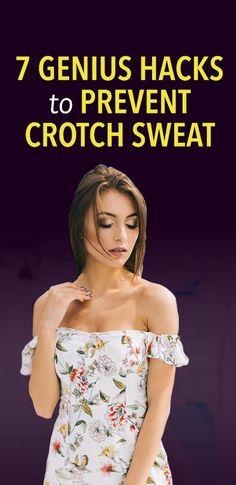 7 genius hacks to prevent crotch sweat