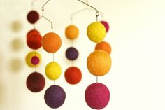 Sunday++Eco+Friendly++Natural++Felted+Wool++Baby+Mobile+by+sqrlbee,+$80.00
