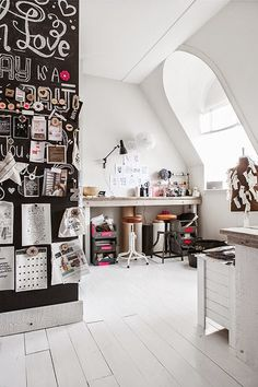 Super creative home office