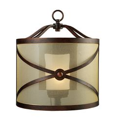 ELK Lighting 14050-1 Cumberland One Light Sconce In Classic Bronze