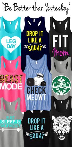 #NobullWomanApparel. https://www.etsy.com/listing/166153381/3-workout-fitness-tank-tops-15-off?ref=shop_home_feat_4