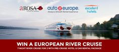 Enter to Win a 7 Night European River Cruise from Auto Europe! Picture yourself enjoying a European River Cruise down the Rhine, Danube, Rhone or Saone Rivers in Europe. Enter to Win Now (it's FREE)! River Cruises In Europe, European River Cruises, All I Ever Wanted, Enter To Win, Car Rental, Dream Vacations, The Ordinary, Places To Visit, Rivers