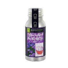 Arôme naturel Violette Patisdécor 50 ml
