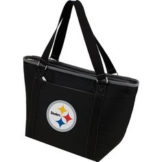 Picnic Time Pittsburgh Steelers Topanga Cooler Cooler ($32) ❤ Liked On  Polyvore Featuring Home, Kitchen U0026 Dining, Food Storage Containers, Black,  ...