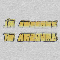 I'M AWESOME HIDDEN MESSAGE  yellow