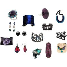 A fashion look from November 2012 featuring blue sapphire jewelry, wire earrings and emerald ring. Browse and shop related looks. Winter Typ, Dark Winter, Deep Winter Colors, Deep Autumn, Color Me Beautiful, Season Colors, Jewel Tones, Winter Season, Vivid Colors